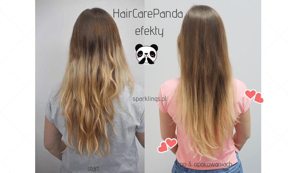 hair care panda efekty
