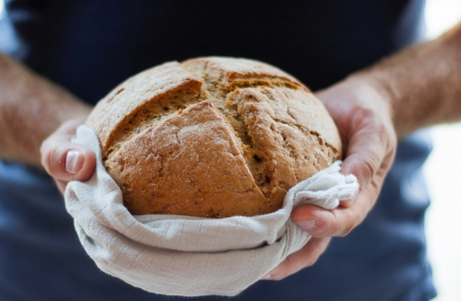 Domowy chleb bez drożdży